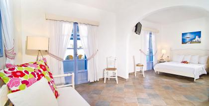 double rooms of Koufonisia Hotel