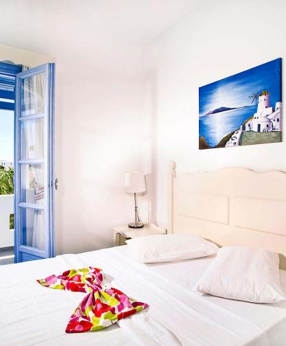 double rooms of Koufonisia Hotel